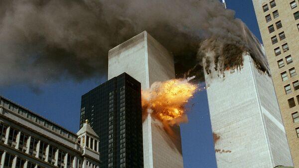 Разрушения в результате теракта 11 сентября в Нью-Йорке - Sputnik Латвия