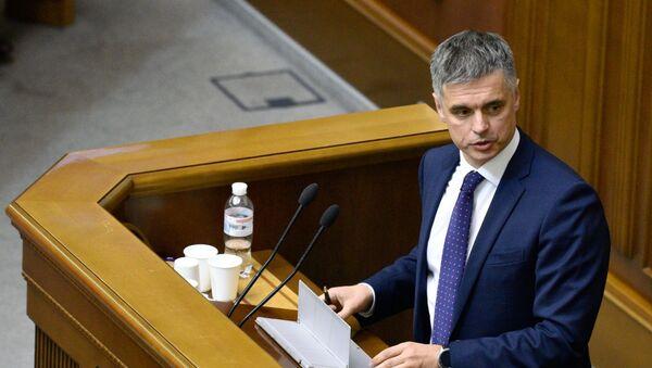 Министр иностранных дел Украины Вадим Пристайко - Sputnik Latvija