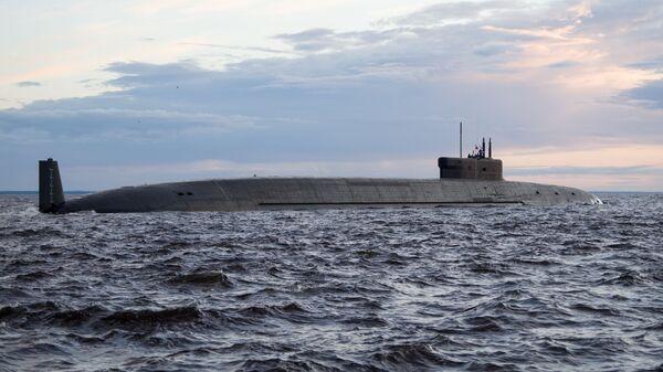 Атомный подводный ракетный крейсер стратегического назначения Князь Владимир  - Sputnik Латвия