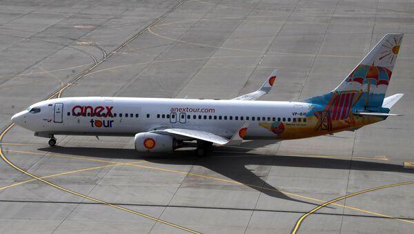 Начало полетов авиакомпании AZUR air  из аэропорта Внуково - Sputnik Latvija