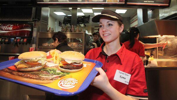 Burger King в Москве - Sputnik Latvija