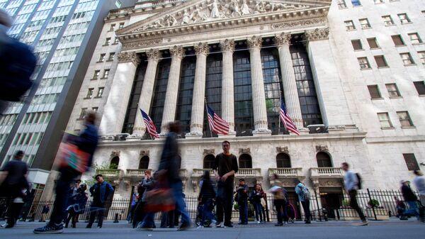 Нью-Йоркская фондовая биржа - Sputnik Latvija
