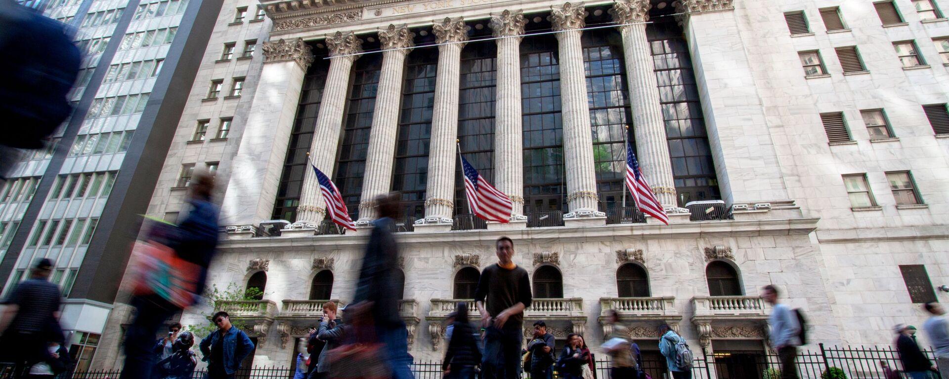 Нью-Йоркская фондовая биржа - Sputnik Latvija, 1920, 01.10.2021