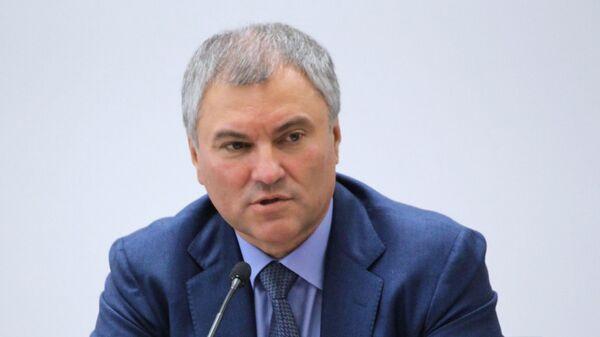 Председатель Государственной Думы РФ Вячеслав Володин - Sputnik Латвия