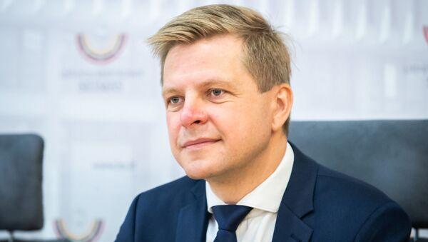 Мэр Вильнюса Ремигиюс Шимашюс, архивное фото - Sputnik Латвия