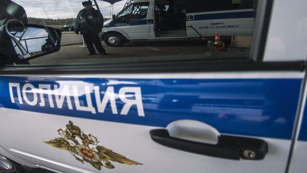 Полицейская машина в России - Sputnik Латвия