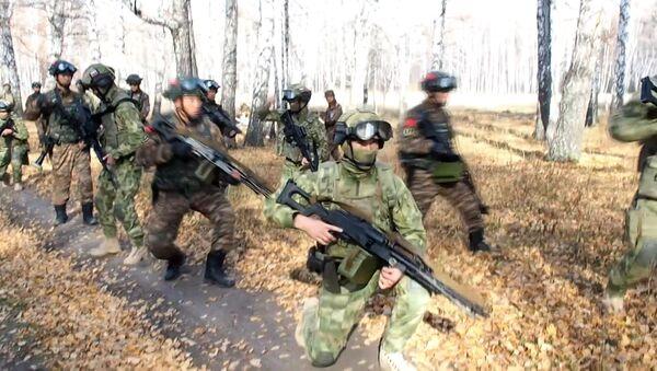 Россия и Китай провели антитеррористические учения Сотрудничество-2019 в Новосибирске - Sputnik Латвия