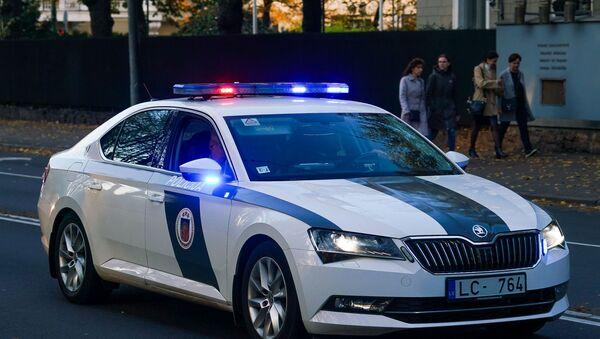 Автомобиль Полиции Латвии - Sputnik Латвия