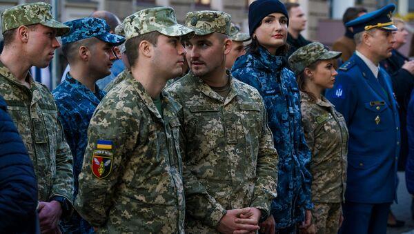 Украинские военные проходящие реабилитацию в Латвии - Sputnik Латвия