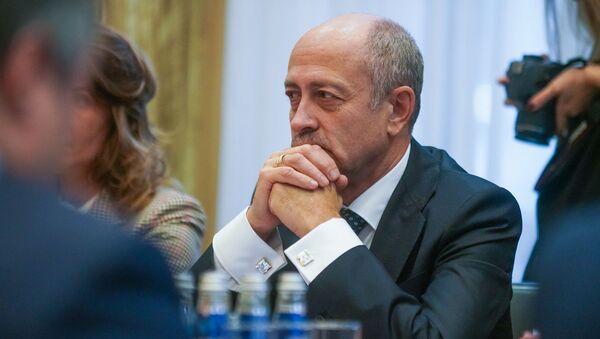 Председатель Рижской думы Олег Буров - Sputnik Латвия