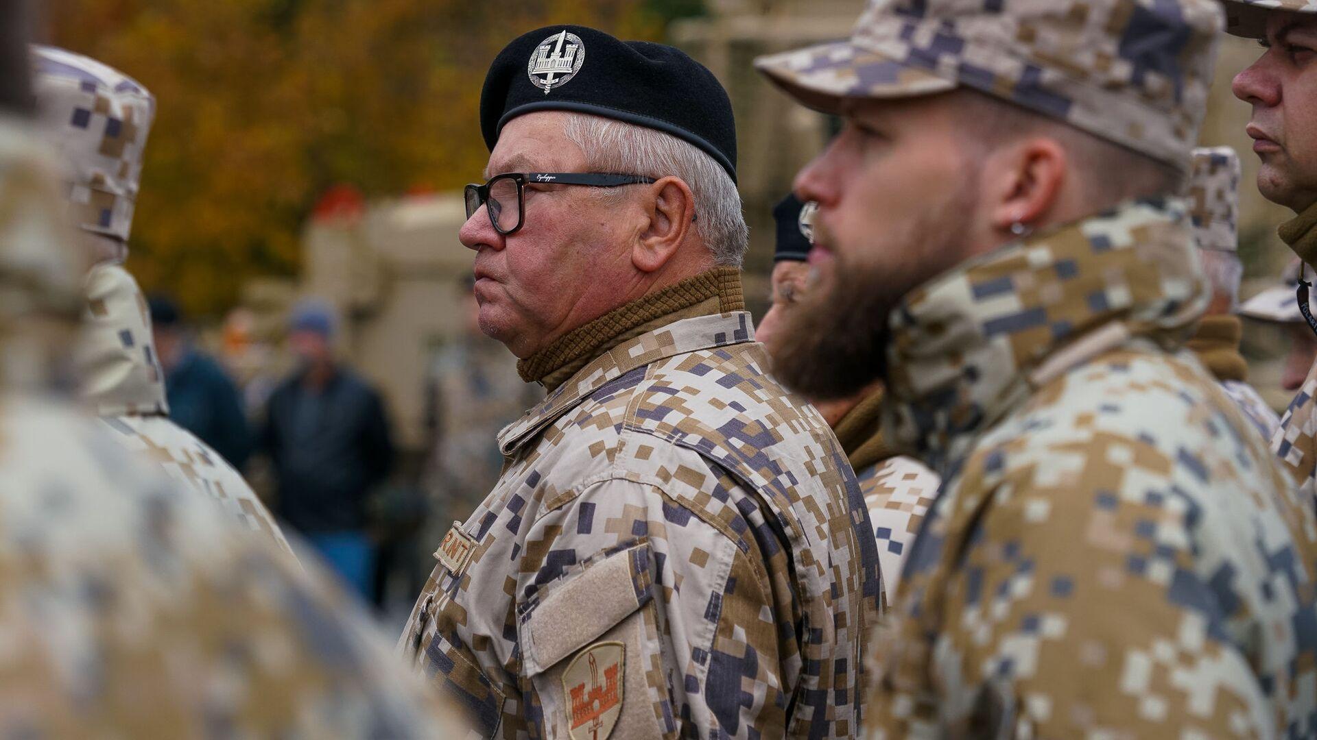 Торжественная церемония передачи Земессардзе от США средств разминирования Husky - Sputnik Latvija, 1920, 08.05.2021
