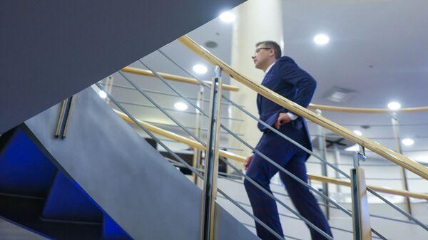 Нил Ушаков на конгрессе партии Согласие - Sputnik Латвия