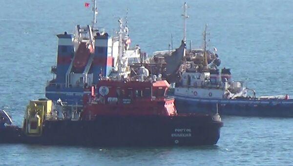 Разорвало, как консервную банку: российский танкер взорвался в Находке - Sputnik Latvija