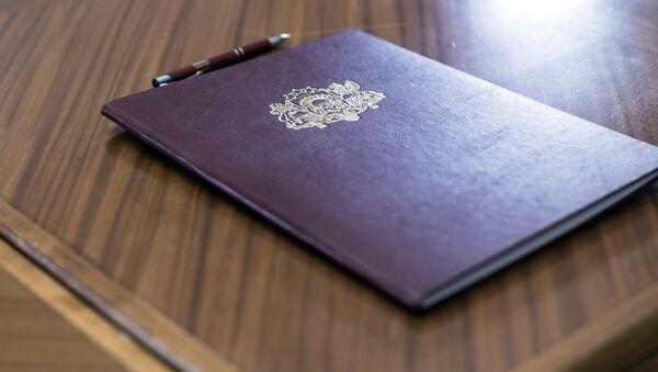 Подписание документов в Сейме - Sputnik Латвия