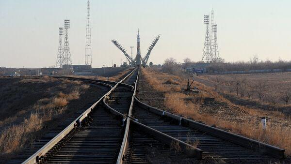 Космодром Байконур. Архивное фото - Sputnik Латвия
