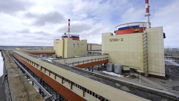 Работа Ростовской АЭС - Sputnik Latvija