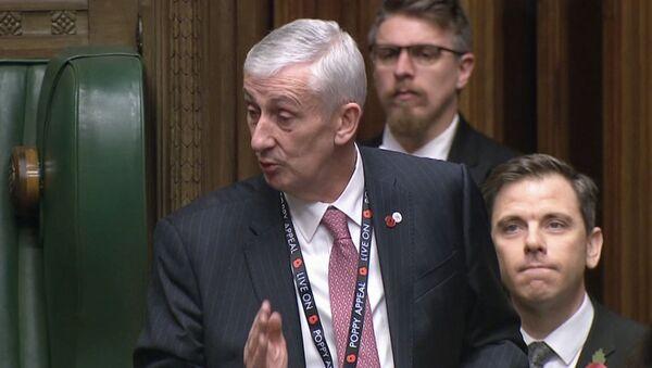 Парламент Британии выбрал нового спикера - Sputnik Латвия