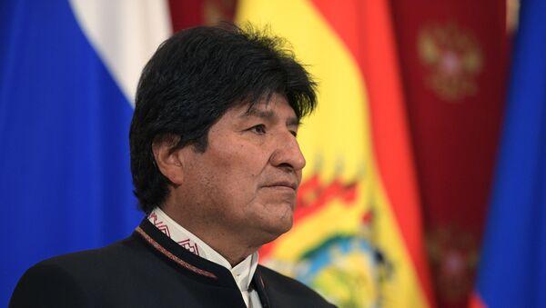 Бывший президент Боливии Эво Моралес - Sputnik Латвия