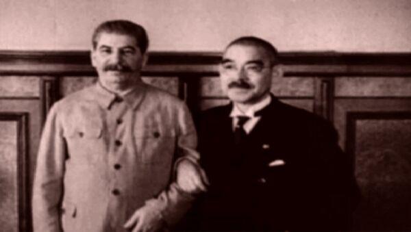 СССР и Япония подписывают пакт о нейтралитете. Съемки 1941 года - Sputnik Latvija