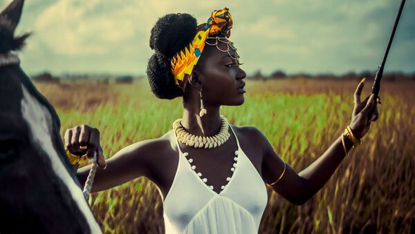Снимок Yaa Asantewaa фотографа из Ганы, представленный на фотоконкурсе The World's Best Photos of #Fashion2019  - Sputnik Латвия
