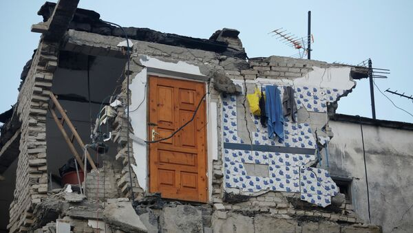 Последствия землетрясения в Албании, 26 ноября 2019 - Sputnik Латвия