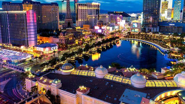 An aerial view on Las Vegas, the United States - Sputnik Latvija