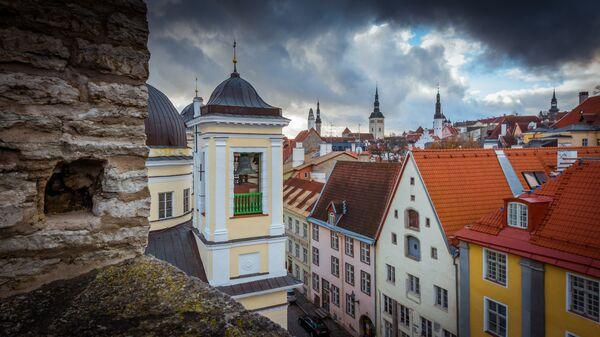 Красивый вид на Старый город с верхней площадки - Sputnik Латвия