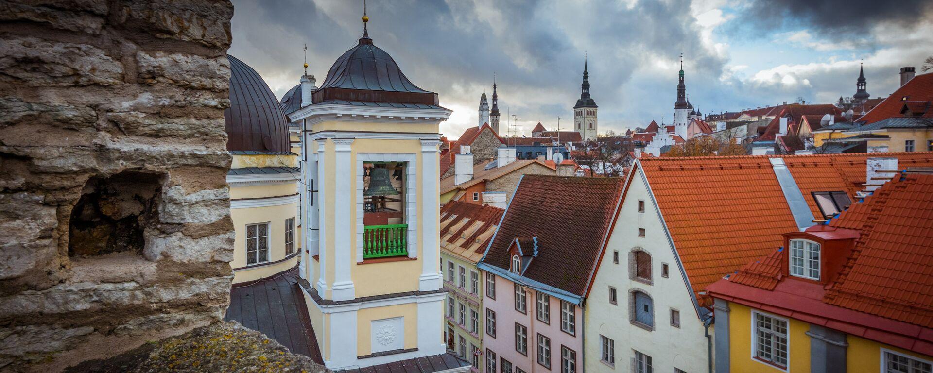 Красивый вид на Старый город с верхней площадки - Sputnik Latvija, 1920, 31.08.2020
