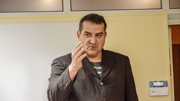Литовский правозащитник, председатель Социалистического народного фронта Литвы Гедрюс Грабаускас - Sputnik Латвия