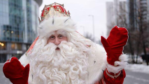 Дед Мороз из Великого Устюга. - Sputnik Latvija