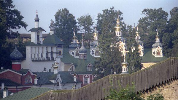 Свято-Успенский Псково-Печерский монастырь - Sputnik Латвия