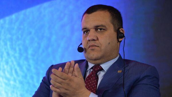 Генеральный секретарь Федерации бокса России, первый вице-президент EUBC, член исполкома AIBA Умар Кремлёв - Sputnik Латвия