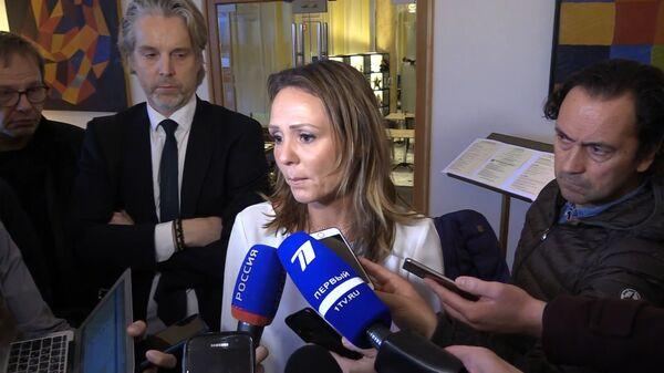 Заявление вице-президента WADA Линды Хеллеланд об отстранении РФ - видео - Sputnik Латвия