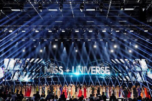 Участницы конкурса красоты Мисс Вселенная 2019 в Атланте, США - Sputnik Латвия