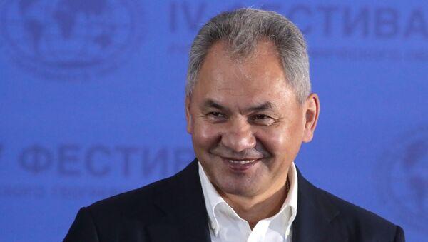Министр обороны России Сергей Шойгу - Sputnik Latvija