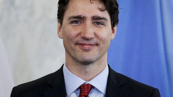 Премьер-министр Канады Джастин Трюдо - Sputnik Latvija