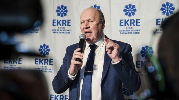 Председатель партии EKRE Март Хельме - Sputnik Latvija