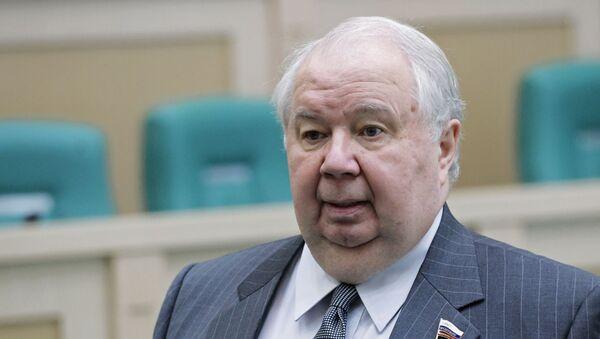 Первый заместитель председателя Комитета Совета Федерации по международным делам Сергей Кисляк - Sputnik Латвия