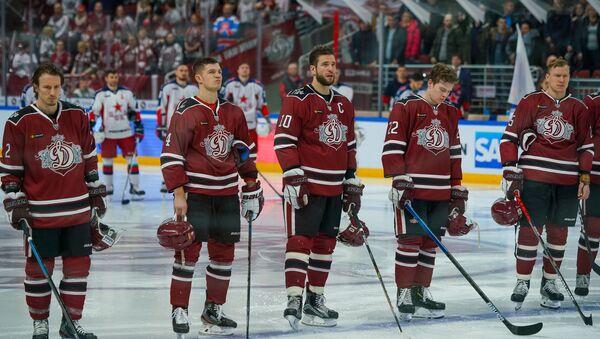Игроки хоккейного клуба  Динамо (Рига) - Sputnik Латвия