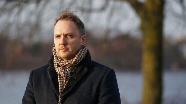 Министр внутренних дел Латвии Сандис Гиргенс - Sputnik Латвия