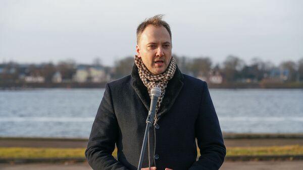 Министр внутренних дел Латвии Сандис Гиргенс - Sputnik Latvija