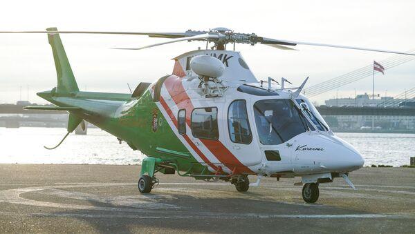 Вертолет Agusta 109E Power погранохраны Латвии - Sputnik Латвия