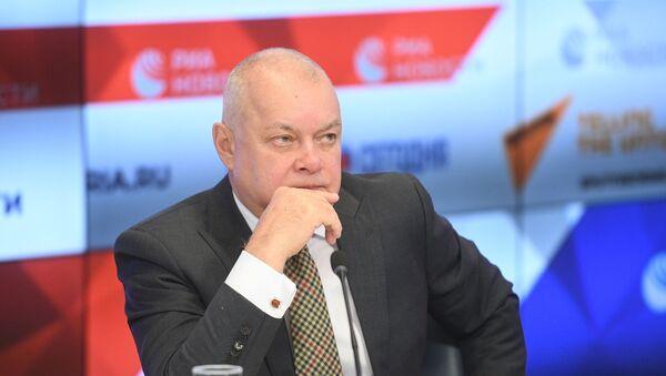 Генеральный директор МИА Россия сегодня Дмитрий Киселев. - Sputnik Латвия