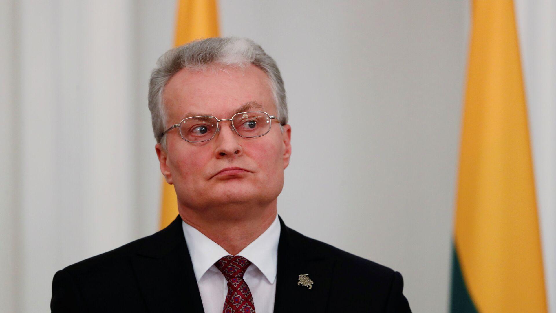Президент Литвы Гитанас Науседа - Sputnik Latvija, 1920, 11.10.2021