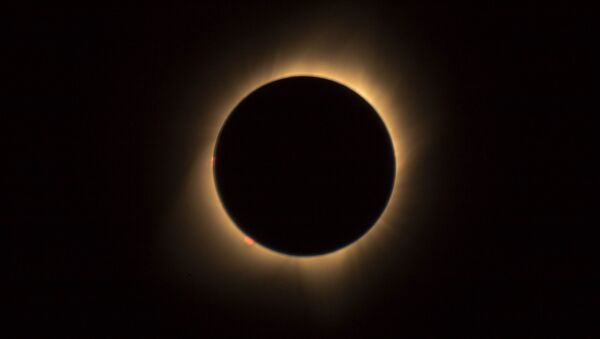 Солнечное затмение  - Sputnik Latvija