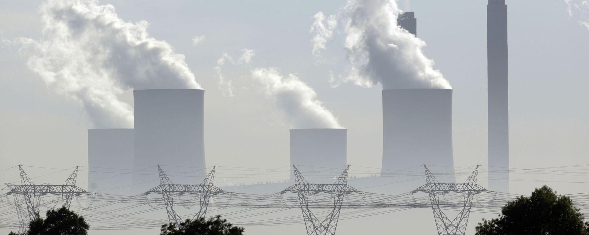 Угольная электростанция - Sputnik Латвия, 1920, 16.09.2021