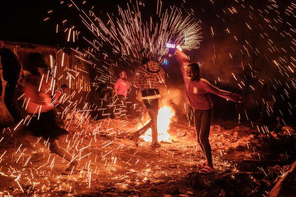 Празднование Нового года в Найроби  - Sputnik Латвия