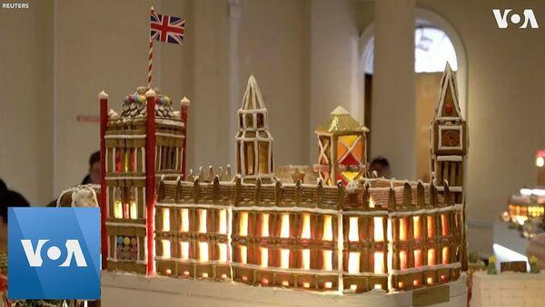 В Британии построили съедобный город из пряников  - Sputnik Латвия