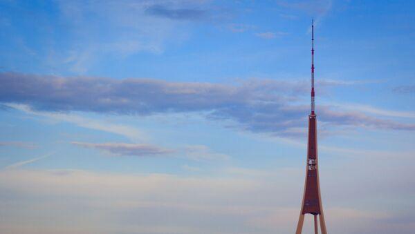 Телевизионная вышка в Риге - Sputnik Латвия