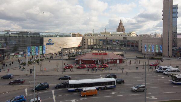Железнодорожный вокзал. Центральная площадь - Sputnik Латвия